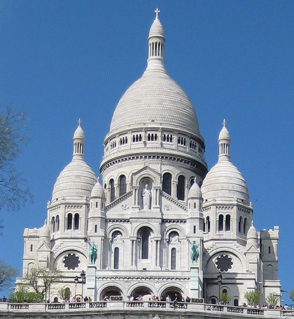Le Sacr 233 Coeur Montmartre The Bleached Stone Of The