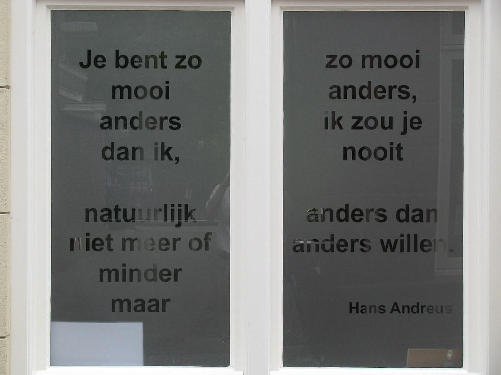 Je Bent Zo Mooi Een Mooi Gedicht Van Hans Andreus Op Een R