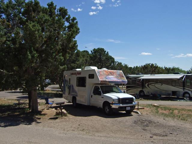 Rv Camping At Grand Canyon Flickr Photo Sharing