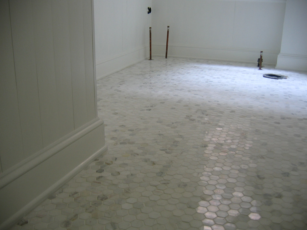Bathroom tiles and paint door sixteen Marble hex tile bathroom floor
