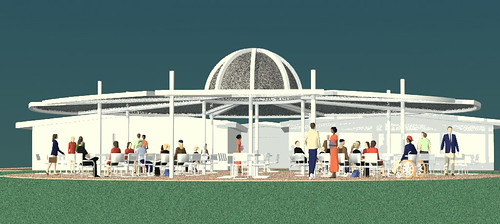 Proposed Shade Structure for the Self-Realization Fellowship