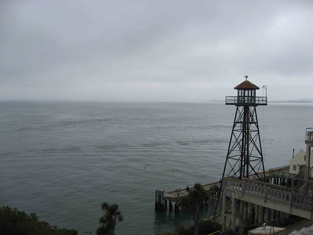Alcatraz, torre vigía