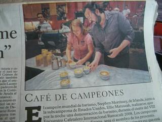 La Prensa front page