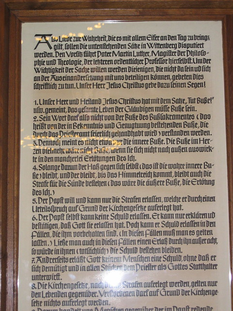 What Is the Importance of the Ninety-Five Theses?