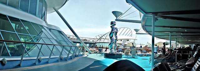 enchantment of the seas top deck