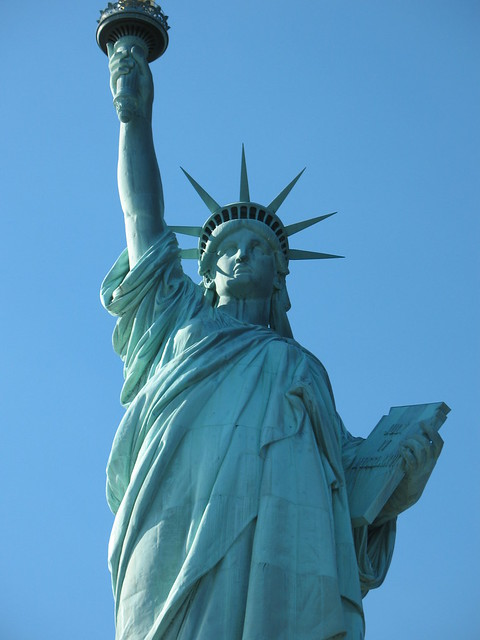 the statue of liberty meaning of The united states has debated immigration since the country's founding, and the  statue of liberty—a potent symbol for immigrants—is often.