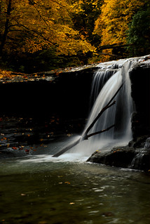 Waterfall at the Gorge in October