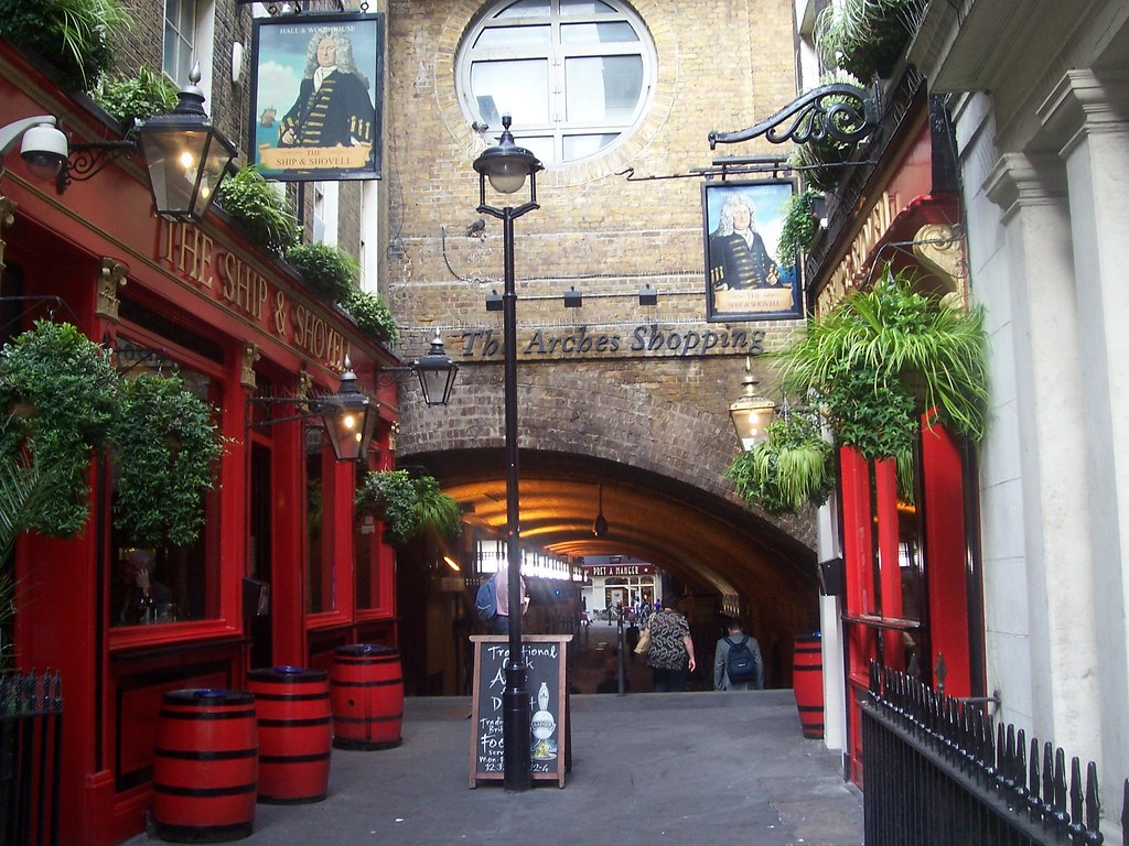 The Ship and Shovell, Charing Cross, London