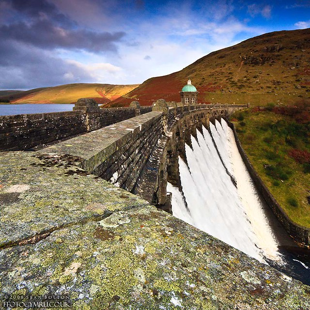 Elan Valley - Craig Goch Dam Wall