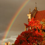 Rainbow in Autumn - Vilnius, Lithuania