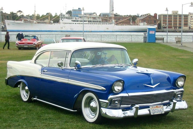 1956 chevrolet bel air 2 door hardtop 39 2dgs662 39 flickr for 1956 chevy belair 2 door hardtop