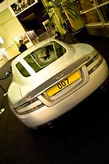 James Bond Quantum of Solace Aston martin DBS @Utopolis Luxembourg -57