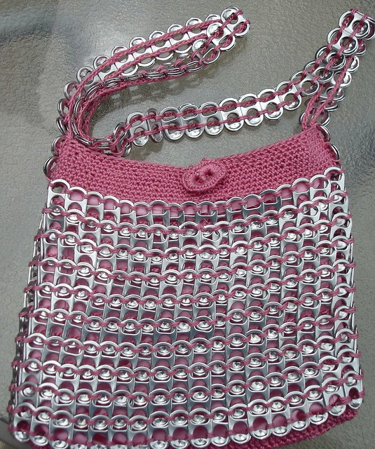 ... THINGS BY CROCHETING WITH PLASTIC BAGS - Easy Crochet Patterns