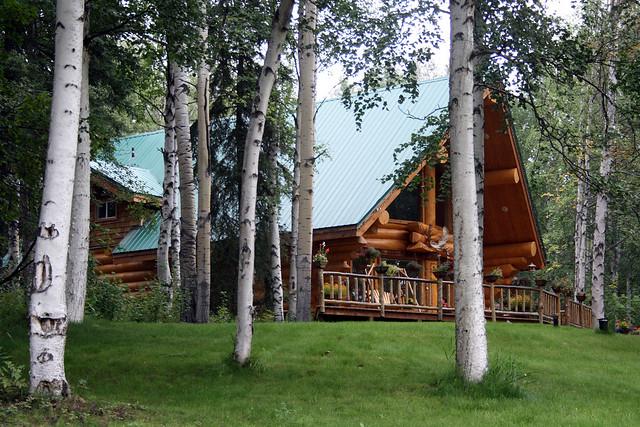 Fairbanks Alaska Log Home Flickr Photo Sharing