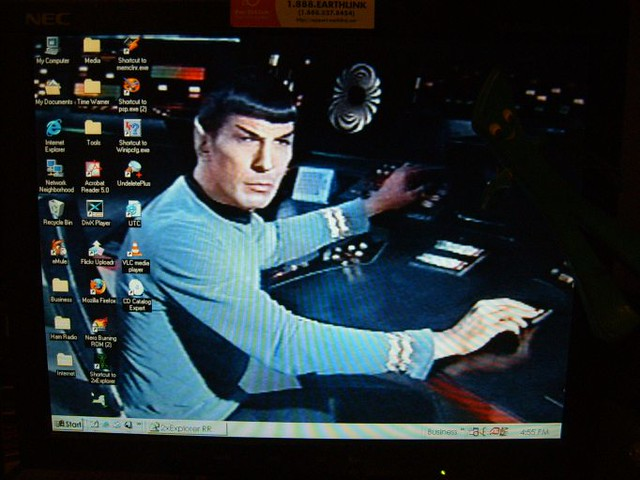 Spock Controls Star Trek Wallpaper Spock Mans The