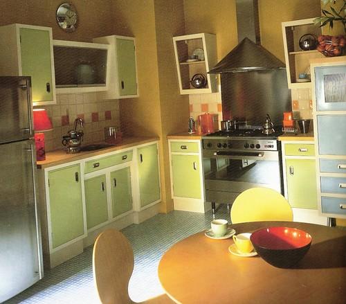 another retro kitchen