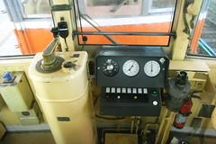 Hakone climb train cockpit