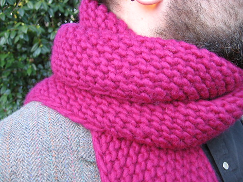 Knitting Garter Stitch Scarf : S p l e n d o r so much for my anti garter bias