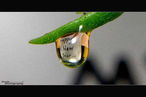 Happy New Year To All My Flickr Friends by buyie - think and shoot !