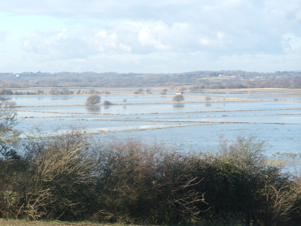 Those Wild Brooks again.... Still flooded. Amberley Circular