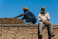 Roof Builders, Delgo, Sudan