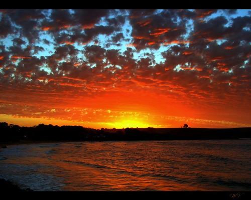 sunset sky clouds bravo australia explore tasmania bec devonport donhead canonpowershots3is infinestyle megashot colesbeach amazingskyscapes