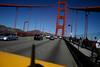 Driving over Golden Gate bridge by Ivo Jansch