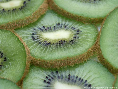 Juicy Kiwi Sliced Fruit
