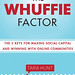 It's now the official cover for Tara Hunt's Whuffie book!