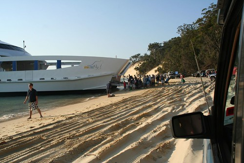 Docking on Beach