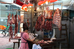 slaughterhouse, meat, food, public space, retail-store,