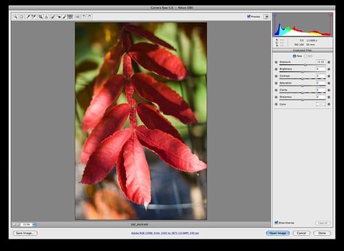 Photoshop 4 graduated filter