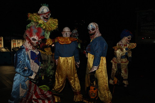 Scary Clowns at PDC2008 Party at Universal Studios by D.Begley