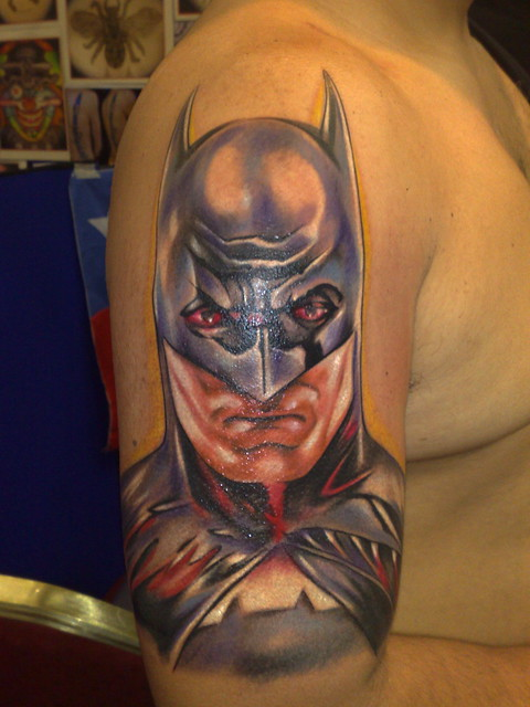 macaya batman tattoo