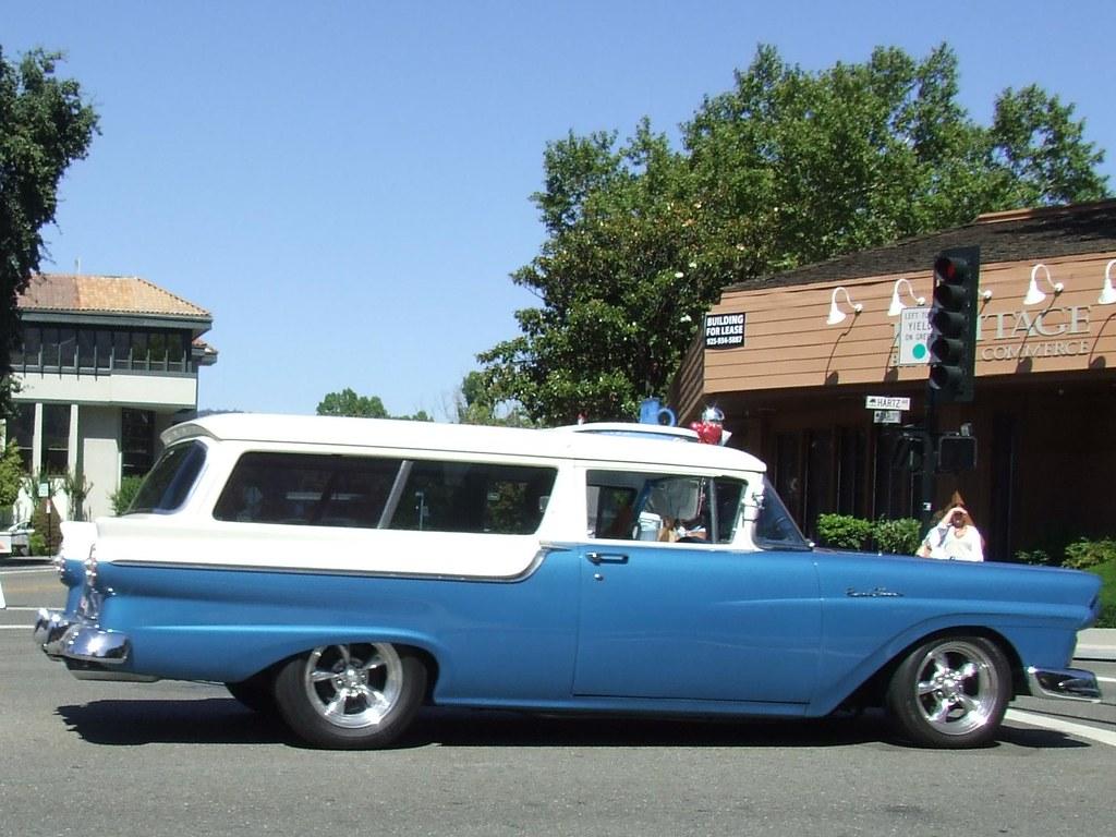 1957 ford 2 door ranch wagon custom 5pcb986 2