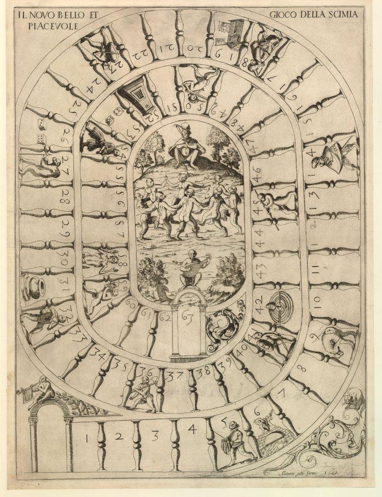 Il novo bello et piacevole gioco della scimia (1588)