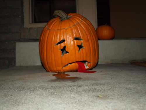 sad pumpkin?