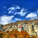 Mountainous Apartments in Autumn, Tehran, Iran (Persia)
