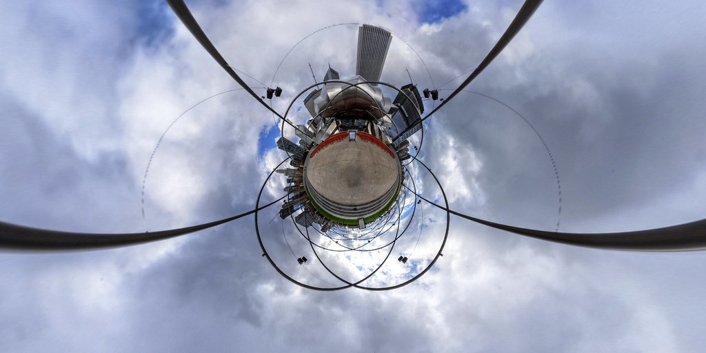 Jay Pritzker Pavilion Stereographic
