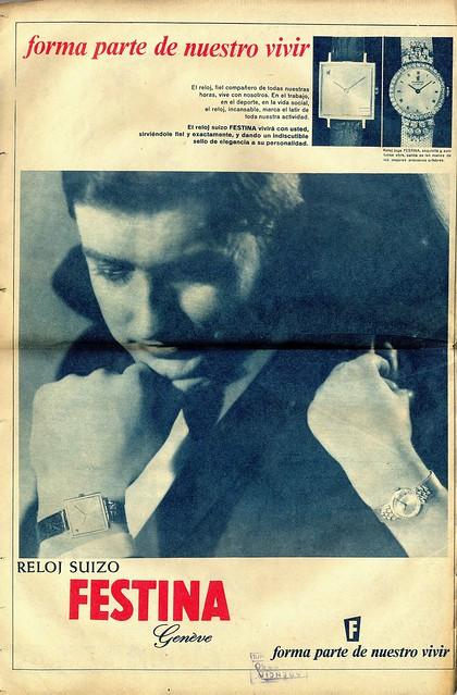 Dígame, No. 1.448, October 3 1967 - back cover