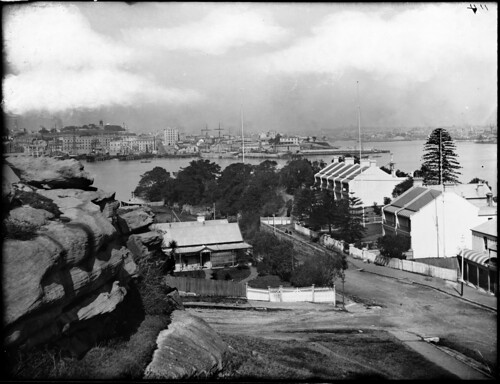 View towards Pyrmont from the north