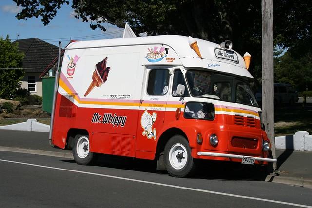 Wairarapa Ice Cream Van