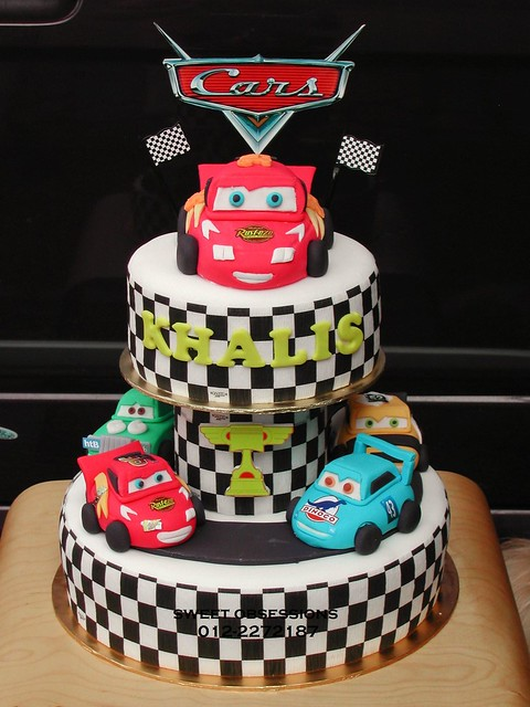 Cake Design Cars Theme : Pixar Cars Theme Cake Flickr - Photo Sharing!