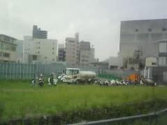東京スカイツリー工事現場 2008年9月2日