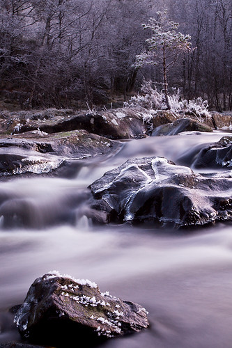 River Affric in Winter