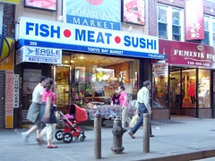 Fish Meat Sushi store