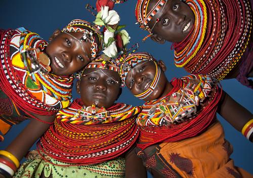 Rendille women - Lake Turkana - Kenya