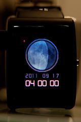 Lunar phase watch (Day 30)