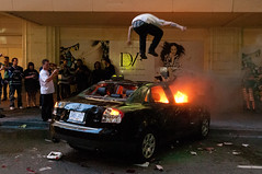 Downtown Vancouver Riot - Jun 15, 2011