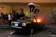 Downtown Vancouver Riot - Jun 15, 2011